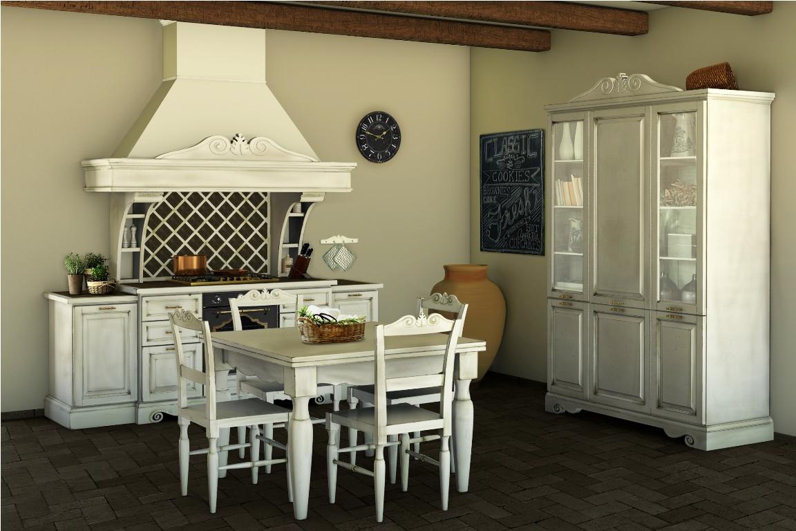 Cucine della nonna come arredare la cucina in stile - Arredamento casa country chic ...