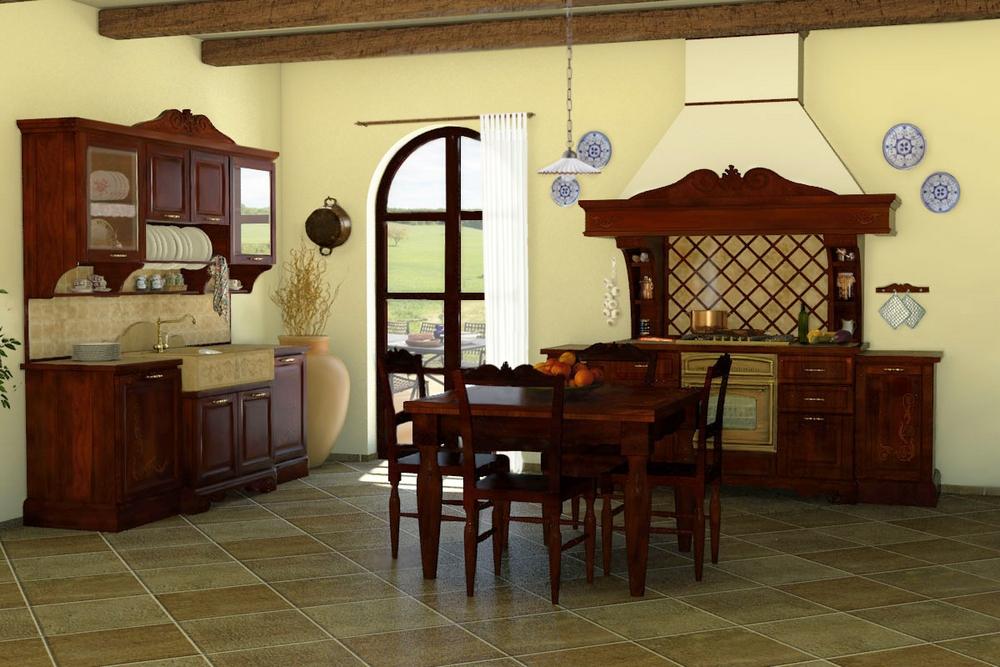 Cucine della nonna come arredare la cucina rustica for Casa rustica classica